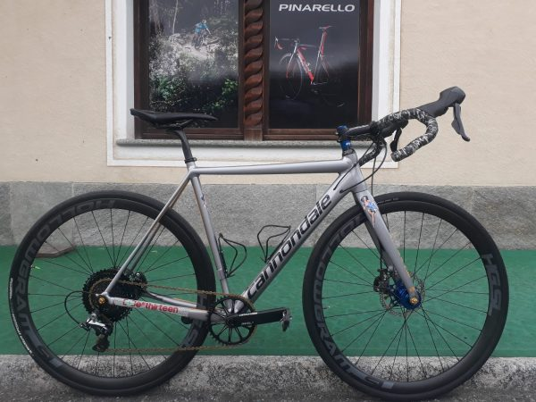 Cannondale Caad 12 (gravel customized)